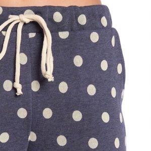 ALTERNATIVE Polka Dot Eco Fleece Sweatpants